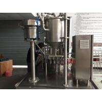 filling screw capping machine with automated bags feeding system for jogurt juice milk bags stand up
