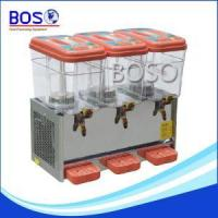 China 3 gallon beverage dispenser BOS-36L 3tank on sale