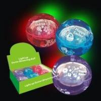 Easter 100mm Light Up Bouncing Ball