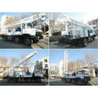 200m deep portable water drill rig BZC200CA truck mounted drilling rig