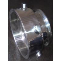 Quality stainless steel machined part for food machine,polished for sale