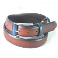 2015 Color Matched Oily Genuine Leather Belt For Men, Mans Cow Hide Belt