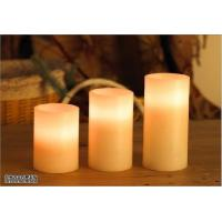 straight pillars led candle