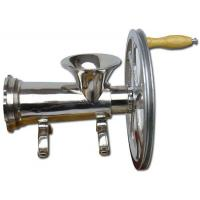Buy cheap 32# stainless hand-operated &motor- runmeat mincer from wholesalers