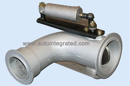 Buy SINOTRUK Assembly and Parts WG9925540003 Exhaust Pipe Assembly at wholesale prices