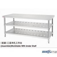 Buy cheap (Assemble)Worktable With Under Shelf from Wholesalers