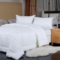 Quality comfortable thicken microfiber quilt hotel bedding for sale