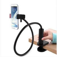 Quality Bendable mobile phone holder with single clip and lock clamp base for household for sale