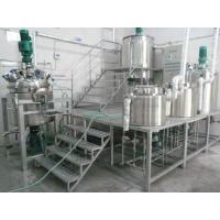 Quality Shampoo making machine platfrom type laundry production line for sale