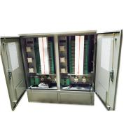 Outdoor Stainless Steel 1152 Core Fiber Optic Cross Connect Cabinet