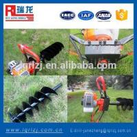Buy cheap Auger drilling rig Gasoline Earth Auger For soil test from Wholesalers