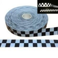 Quality Hi-VIZ Red White Reflective Fabric Tape 50mm sew in the clothes for sale