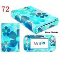 Flowers Protective Skin Decal Sticker Cover for Wii U