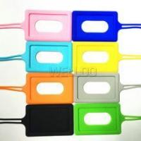 Silicone baggage tag/silicone car holder
