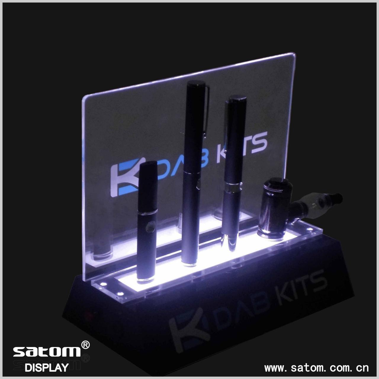 Quality acrylic e cigarette display stand for sale