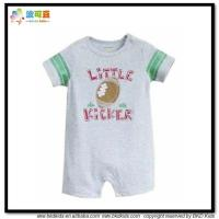 China cotton baby rompers printed baby grows and newborn playsuits on sale