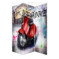 Quality Mass production promotional canvas arts painting divider mode london bus for house for sale