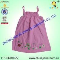 Quality new arrival cheap sleeveless wholesale baby dress modern for sale