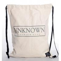 Quality Fashion Recycled Organic Cotton drawstring bag for sale