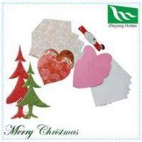 Quality To show your love!! Romantic heart shape handmade greeting card for sale