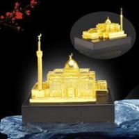 Quality Saudi style polyresin/metal miniature building for sale