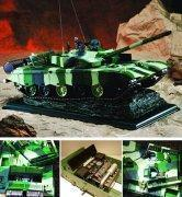 Quality Tank&armor models 1/24 scale Type99A main battle tank for sale