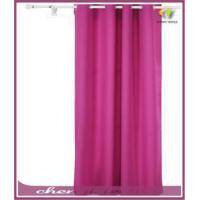 China Grommet Top Thermal Insulated Curtain with Backside Silver Backing to Reflect SunlightsPanel,Rose on sale