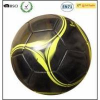 Quality size 3 classical black soccer ball football,PVC ball for sale