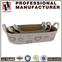New Basket Leather pu design custom car basket in bulk