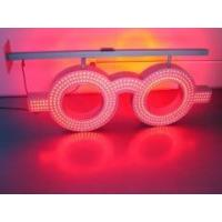 Buy cheap led glasses sign flashing led glass sign double sided 762