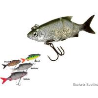 Quality Soft Plastic Baits Product Double Jointed Lazer Eye Shad Lure for sale