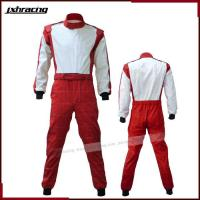 China Auto Racing Suit (51) The latest one piece red shiny nomex car racing suit RB-CR016 on sale