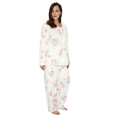 Buy Long Pajama Sets HOME Plus Size Women Cotton Pajama Set at wholesale prices