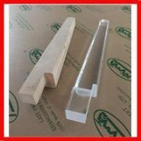 Quality hot sell high polished 17 inch acrylic furniture leg for sale