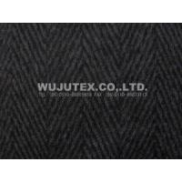 China 550g/sm Herringbone Winter Good Quality Twilled Woolen Fabric 50% Wool, 50% Polyester on sale