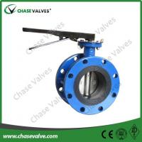 Quality 8 Inch Flanged Concentric Butterfly Valve for sale