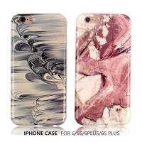 Quality Simple marble texture original smooth surface TPU phone case for sale