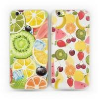 2016 New Arrival fruit Design Soft Silicone TPU Mobile Phone Accessory Back Cover for iPhone 6S