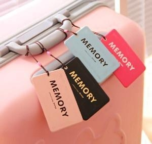 Buy 2016 Fashion promotional customized silicone luggage tag at wholesale prices