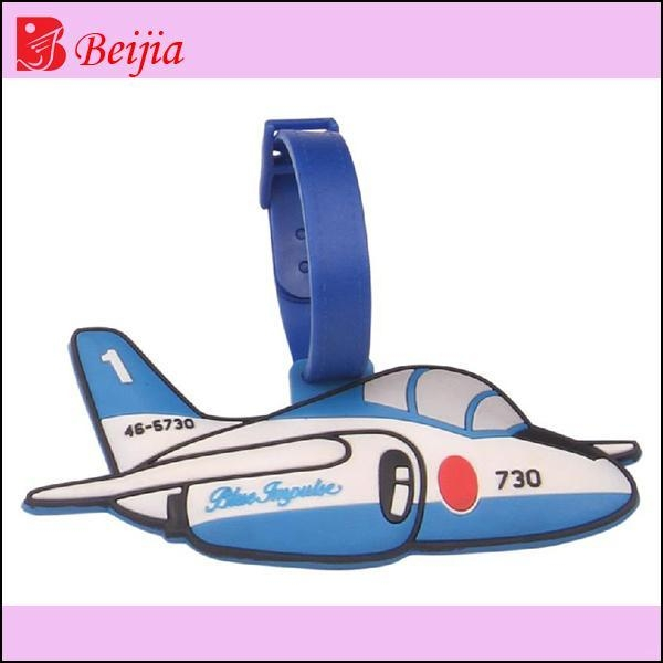 Buy Premium Gift 3D rubber luggage tag for promotional gift at wholesale prices