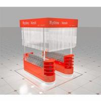 Quality shopping mall display candy bulk and candy showcase candy box for kiosk for sale