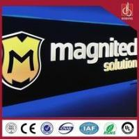 Quality Any Size Vacuum forming Acrylic Sign Board / Advertising LED Sign Board for sale