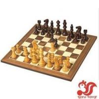 Quality Chess Set, Excalibur Deluxe Wooden Model No.: SY11002 for sale