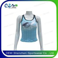 Buy cheap Cheerleading uniform cheer tank top from wholesalers