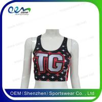 Buy cheap Cheerleading uniform cheer sports bra from wholesalers