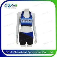 Buy cheap Cheerleading uniform cross back cheer practice wear from wholesalers