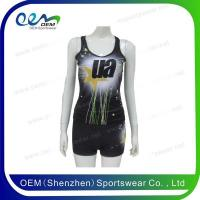Buy cheap Cheerleading uniform cheer tank top set from wholesalers