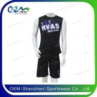 Buy cheap Cheerleading uniform men practice uniform from wholesalers