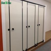 Quality chinese wall hpl panel toilet cubicle partition for sale