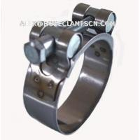 Quality HD-01 Stainless steel heavy duty single head clamp for sale